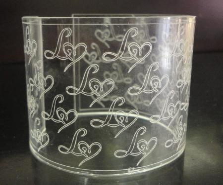 Acrylic engraving 1